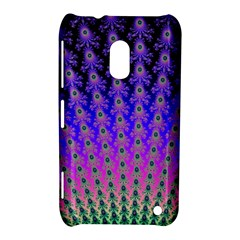 Rainbow Fan Nokia Lumia 620 Hardshell Case by UROCKtheWorldDesign