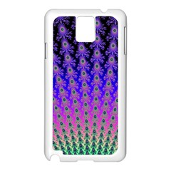 Rainbow Fan Samsung Galaxy Note 3 N9005 Case (white) by UROCKtheWorldDesign
