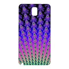 Rainbow Fan Samsung Galaxy Note 3 N9005 Hardshell Back Case by UROCKtheWorldDesign