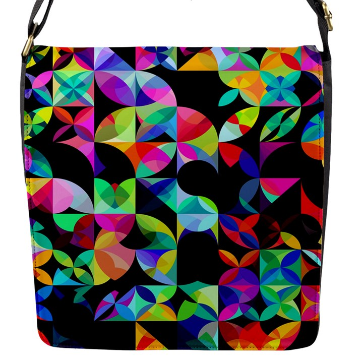 A Million Dollars Flap Closure Messenger Bag (Small)