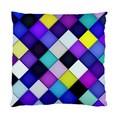 Quilted With Halftone Cushion Case (single Sided)  by houseofjennifercontests