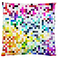 Pixelated Large Cushion Case (single Sided)