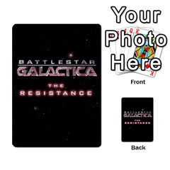 Bsg Resistance By Twlee33 Hotmail Com   Multi Purpose Cards (rectangle)   Lp6xdrdv743p   Www Artscow Com Back 24