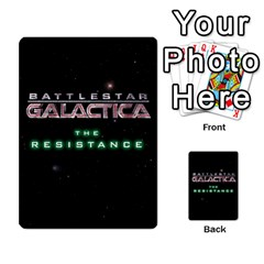 Bsg Resistance By Twlee33 Hotmail Com   Multi Purpose Cards (rectangle)   Lp6xdrdv743p   Www Artscow Com Back 33