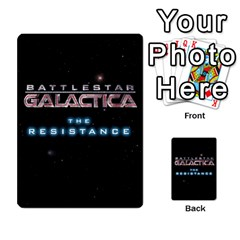 Bsg Resistance By Twlee33 Hotmail Com   Multi Purpose Cards (rectangle)   Lp6xdrdv743p   Www Artscow Com Back 40