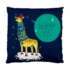 Wrap Up  Cushion Case (single Sided)  by Contest1878722