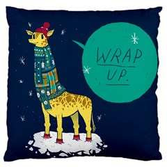 Wrap Up  Large Cushion Case (single Sided)  by Contest1878722