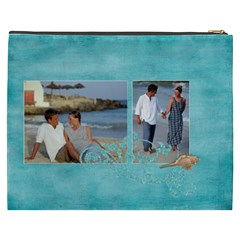 Beach Ocean Vacation Xxxl Cosmetic Bag By Mikki   Cosmetic Bag (xxxl)   Du2ru53mmb35   Www Artscow Com Back