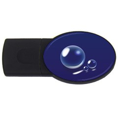 Bubbles 7 2gb Usb Flash Drive (oval) by NickGreenaway