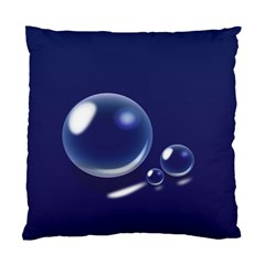 Bubbles 7 Cushion Case (single Sided)  by NickGreenaway