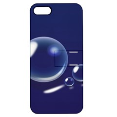 Bubbles 7 Apple Iphone 5 Hardshell Case With Stand by NickGreenaway