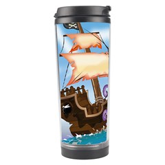 Piratepirate Ship Attacked By Giant Squid  Travel Tumbler