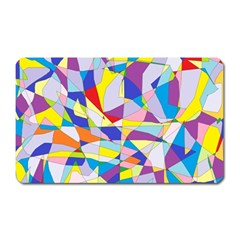 Fractured Facade Magnet (rectangular) by StuffOrSomething