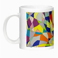 Fractured Facade Glow In The Dark Mug by StuffOrSomething