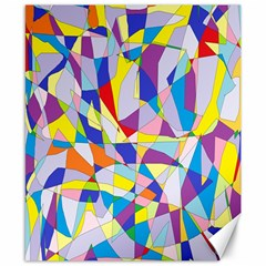 Fractured Facade Canvas 8  X 10  (unframed) by StuffOrSomething
