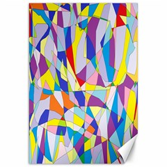 Fractured Facade Canvas 20  X 30  (unframed) by StuffOrSomething