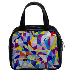 Fractured Facade Classic Handbag (two Sides) by StuffOrSomething