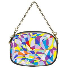 Fractured Facade Chain Purse (one Side)