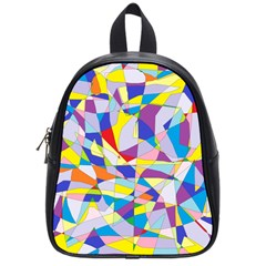 Fractured Facade School Bag (small) by StuffOrSomething