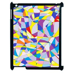 Fractured Facade Apple Ipad 2 Case (black) by StuffOrSomething