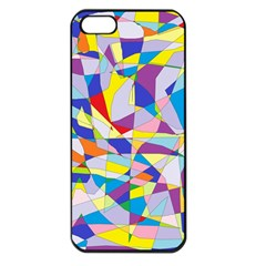 Fractured Facade Apple Iphone 5 Seamless Case (black) by StuffOrSomething