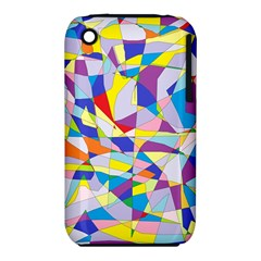 Fractured Facade Apple Iphone 3g/3gs Hardshell Case (pc+silicone) by StuffOrSomething
