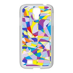 Fractured Facade Samsung Galaxy S4 I9500/ I9505 Case (white)