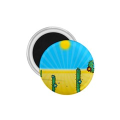 Cactus 1 75  Button Magnet by NickGreenaway