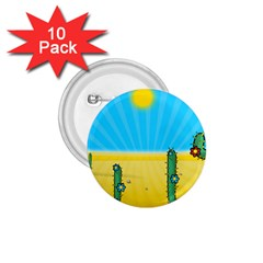 Cactus 1 75  Button (10 Pack) by NickGreenaway