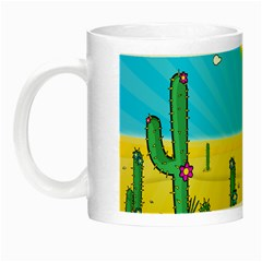 Cactus Glow In The Dark Mug by NickGreenaway