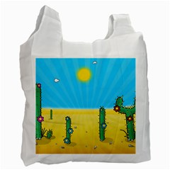 Cactus Recycle Bag (one Side) by NickGreenaway