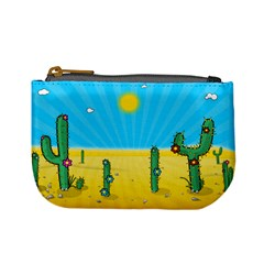 Cactus Coin Change Purse by NickGreenaway
