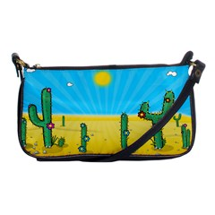 Cactus Evening Bag by NickGreenaway