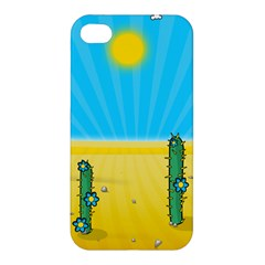 Cactus Apple Iphone 4/4s Hardshell Case by NickGreenaway