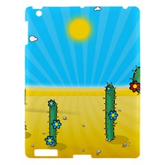 Cactus Apple Ipad 3/4 Hardshell Case by NickGreenaway