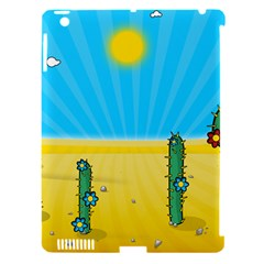Cactus Apple Ipad 3/4 Hardshell Case (compatible With Smart Cover) by NickGreenaway