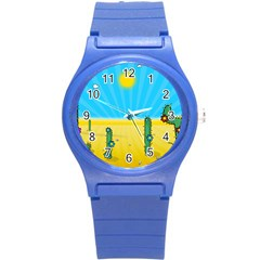 Cactus Plastic Sport Watch (small) by NickGreenaway