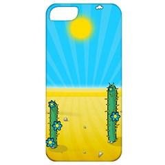 Cactus Apple Iphone 5 Classic Hardshell Case by NickGreenaway