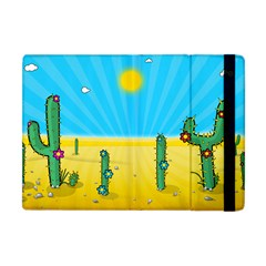 Cactus Apple Ipad Mini Flip Case by NickGreenaway