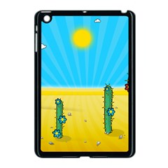 Cactus Apple Ipad Mini Case (black) by NickGreenaway