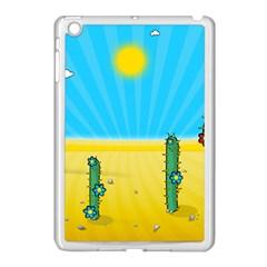 Cactus Apple Ipad Mini Case (white) by NickGreenaway