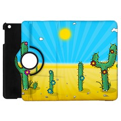 Cactus Apple Ipad Mini Flip 360 Case by NickGreenaway