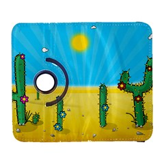 Cactus Samsung Galaxy S  Iii Flip 360 Case by NickGreenaway