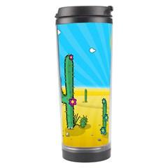 Cactus Travel Tumbler by NickGreenaway