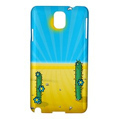 Cactus Samsung Galaxy Note 3 N9005 Hardshell Case by NickGreenaway