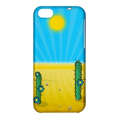 Cactus Apple Iphone 5c Hardshell Case by NickGreenaway