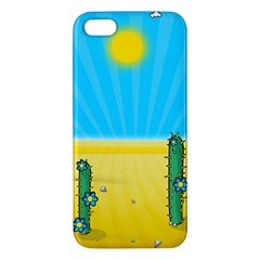 Cactus Iphone 5s Premium Hardshell Case by NickGreenaway