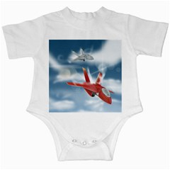 America Jet Fighter Air Force Infant Bodysuit by NickGreenaway