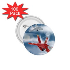 America Jet fighter Air Force 1.75  Button (100 pack) by NickGreenaway