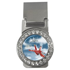 America Jet Fighter Air Force Money Clip (cz) by NickGreenaway
